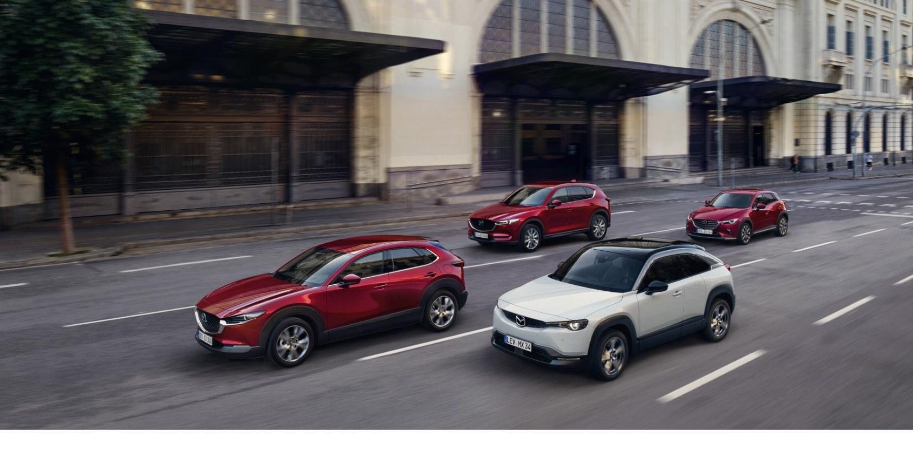noua gamă de SUV-uri Mazda